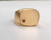 Personalized Signet ring,...