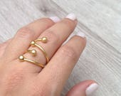 Adjustable Ring, Art Ring...