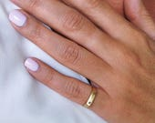 Thin Ring, Signet Ring, G...