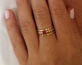 3 Rings, 3 Stacking Ring ...