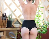 Cheeky High Waist Panties - Organic Cotton &/or Hemp Underwear