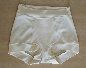 High Waist Rosemary Brief - Organic cotton blend shorts