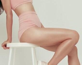 High Waist Panties - Organic Cotton Blend - Comfortable Underwear