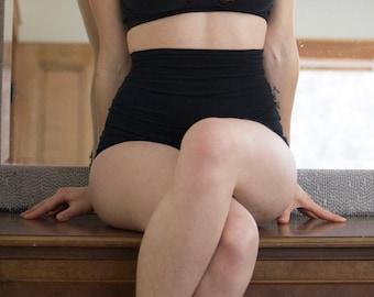 Empire Waist Panty - Extra High Waist - Organic Cotton &/or Hemp Underwear