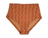 French Cut High Waist Panty - Prints - Naturally dyed organic cotton