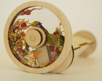 Flower Kaleidoscope, Natural Flowers, Eco Friendly, Handmade Toy, Original Design, Unique Patterns, Best Gift Ideas