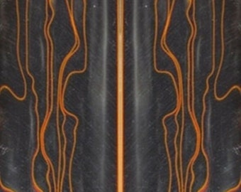 "1 pc Midnight Racer Acrylic Acetate Pen Blank 1/"" x 1/"" x 5/"" #32"