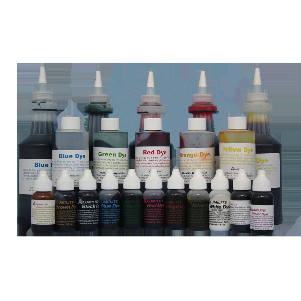 Alumilite colorant OZ brun 6 OZ colorant (1) bouteille RM da9412
