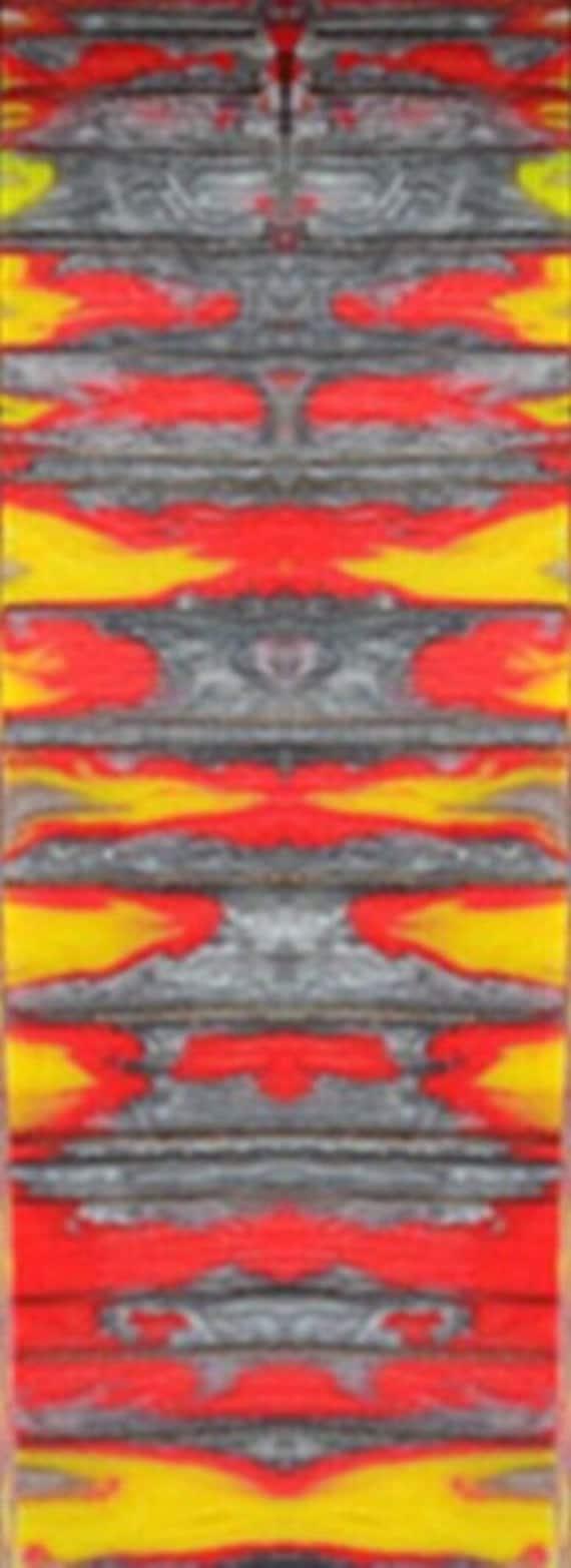 "Blazing Embers Genesis Acrylester 1 pc Pen Blank 3//4/"" x 5/"" Blanks"