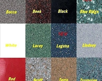 13 Colors Inlace Liquid Inlay Full Set of 1 Ounce Samples Including Clear