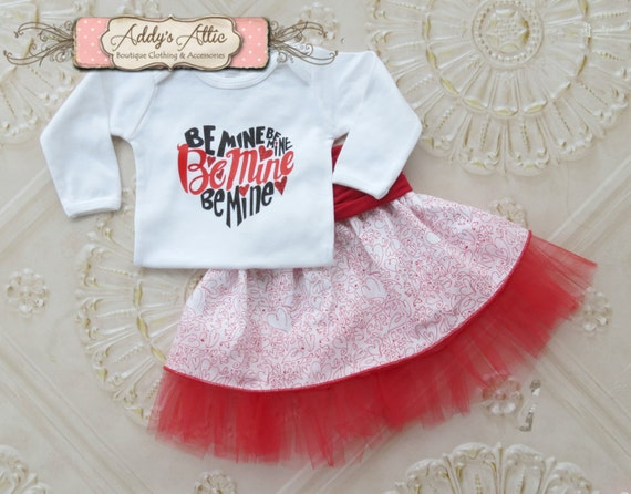 Baby Girl Valentines Day Outfit Baby Girl Clothes Toddler Etsy