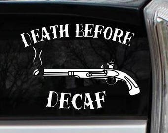 No Coffee No Workee Decal Starbucks Car Vehicle Bumper Sticker Window Label