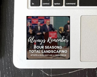 Four Seasons Total Landscaping Glossy Sticker