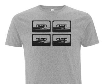 T-Shirt 4Tapes Fair Trade & Organic Cotton _ grey