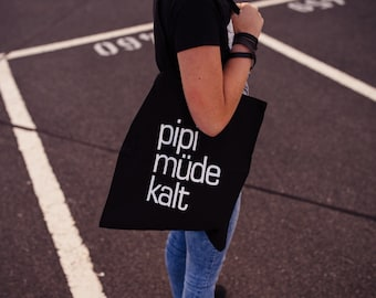 pee tired cold Tote Bag