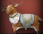 Timber the Reindeer PRINTED PATTERN by cheswickcompany