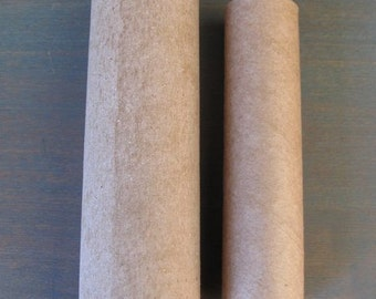 Cardboard tubes to create Candy Containers or Tree Toppers by cheswickcompany