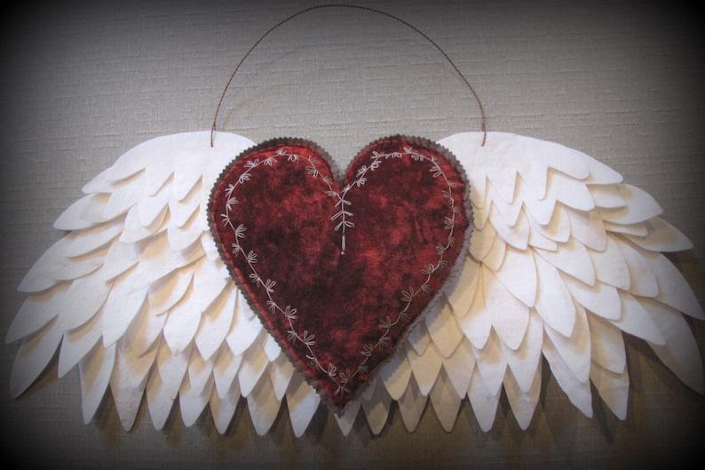 My Heart has Wings PRINTED PATTERN by cheswickcompany