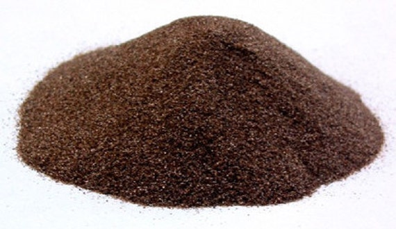 White Emery sand 3 lbs//Cups high quality,loose,fine grit, FREE shipping
