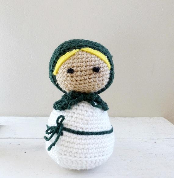 Russische Puppe Ausgestopfte Puppe Häkeln Amigurumi Häkeln