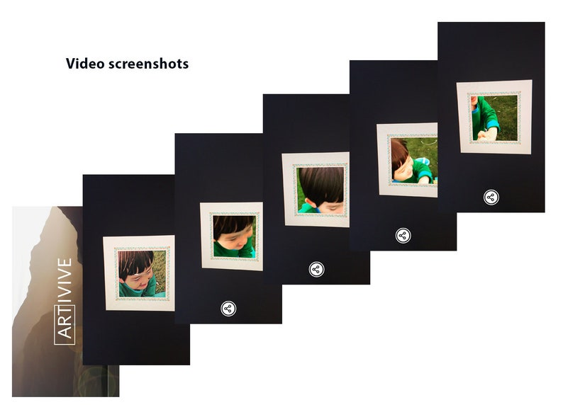 Custom AR Augmented Reality photo video Fathers Day card tech anniversary card husband mom dad birthday cards for boyfriend friend