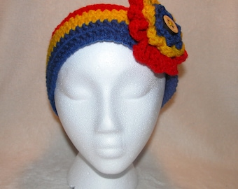 Primary Colored Adult and Teen Sized Ear Warmers