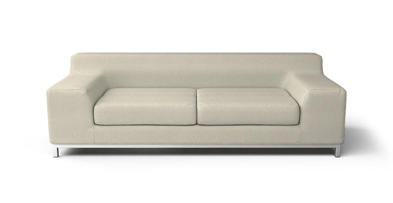 IKEA Kramfors 3 Seater Sofa SLIPCOVER ONLY in Kino Natural   Etsy