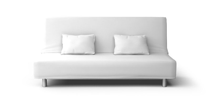 Ikea Beddinge Loose Fit Slipcover Nur In Gaia Weiß Stoff Etsy