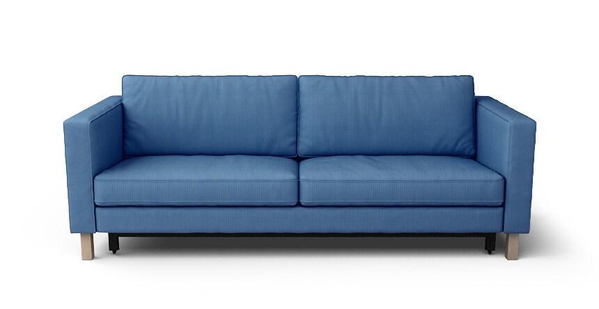 Slaapbank Karlstad Ikea.Ikea Karlstad Slaapbank Zachte Alleen In Visgraat Denim Stof