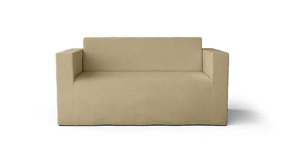 Incredible Ikea Klobo Loveseat Slipcover Only In Gaia Flax Fabric Gmtry Best Dining Table And Chair Ideas Images Gmtryco