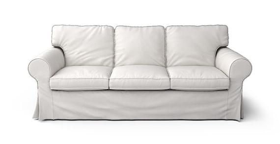 Pleasant Ikea Ektorp 3 Seater Sofa Slipcover Only In Herringbone Ivory Fabric Download Free Architecture Designs Rallybritishbridgeorg