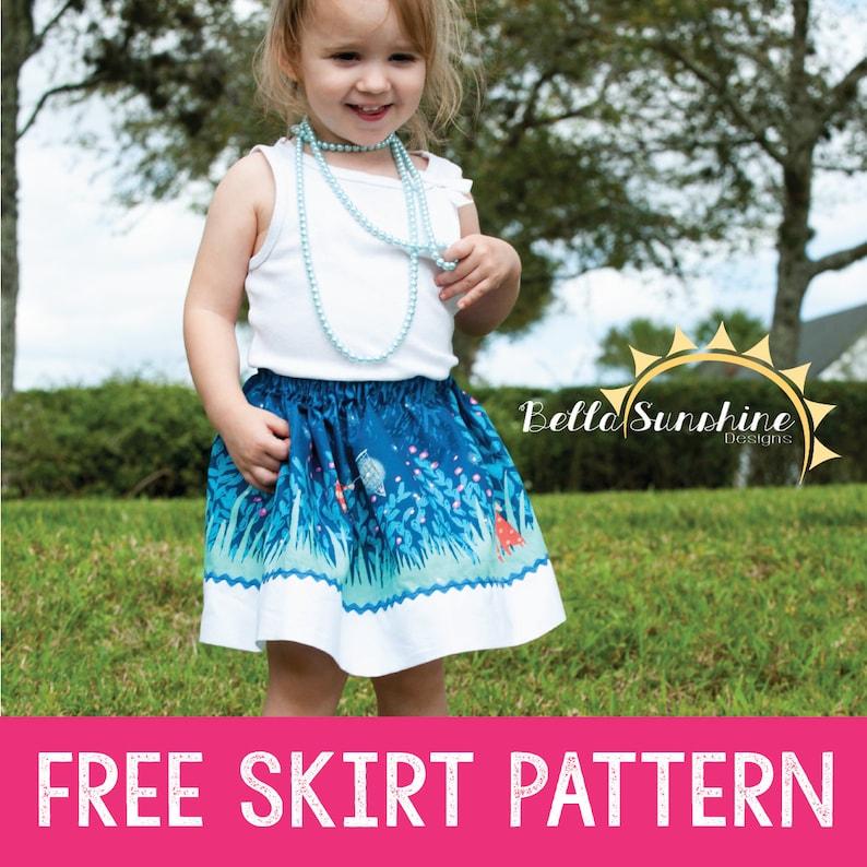 cfd5f07f9a61 Isabella free sewing pattern pdf sewing pattern pdf skirt