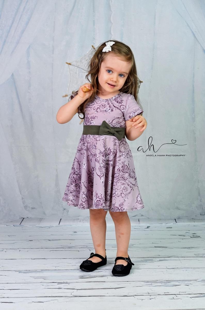 Maci sewing pattern PDF Sewing Patterns girls dress image 0