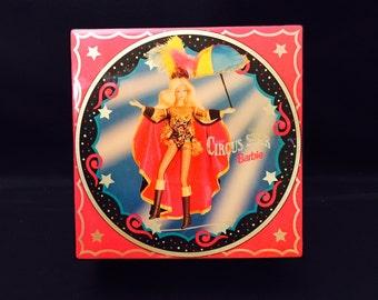 Barbie Music Box Mattel Circus Star Barbie Trinket Box Jewelry Box