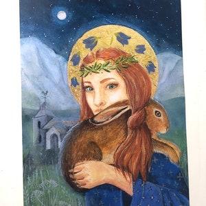 Melangell of Powys Dancing Monk