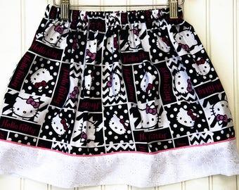 Hello Kitty Banner Skirt (Size XL)