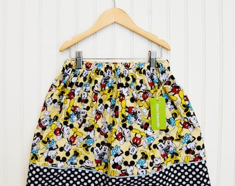 Mickey Mouse Banner Skirt (Size X-Large)