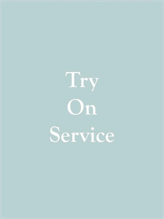 Hochzeit Schuhe Versuchen Sie Auf Service Etsy