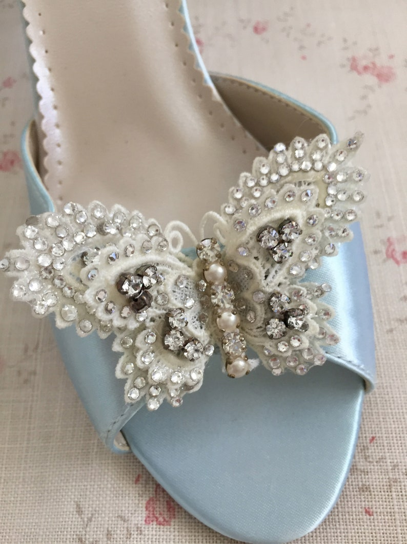 102393e2669e Butterfly Shoes Custom Wedding Shoes Papillon Handcrafted
