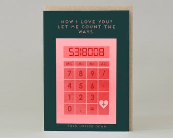 Love calculator '8008135' Card