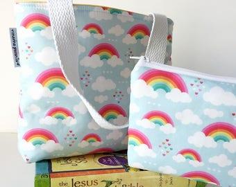 kid bible combo set -- rainbows