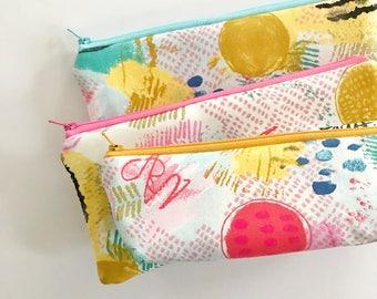 pencil pouch -- creative canvas