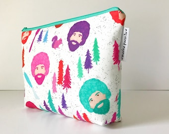 project bag -- Mr. Ross in bright