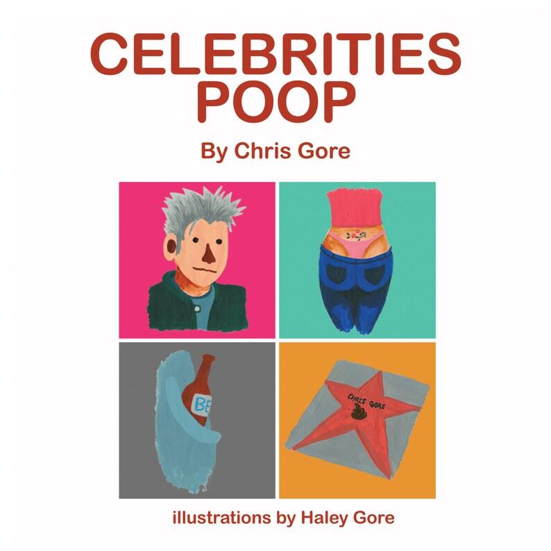 Celebrities Poop book and album plus exclusive bonus track image 0