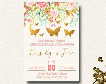 garden party invite etsy