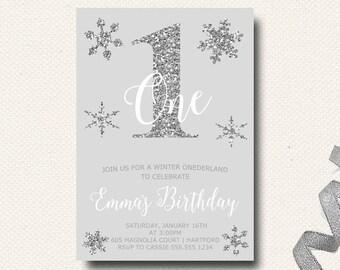snowflake invites etsy