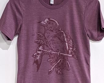 Nature Bird Shirt, Bird t-shirt, Graphic Tee, Gift for Nature Lover, Birders, Birdwatchers, Ornithology