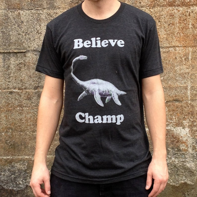 08a66245 Believe Champ T-shirt Men's/Unisex American Apparel | Etsy