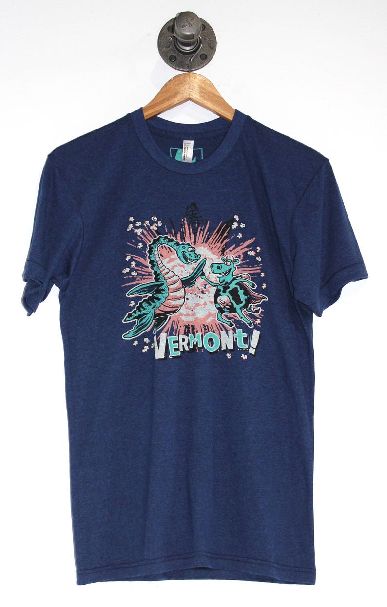 Vermont Cow Champ High Five of Awesomeness T-shirt Men's image 0
