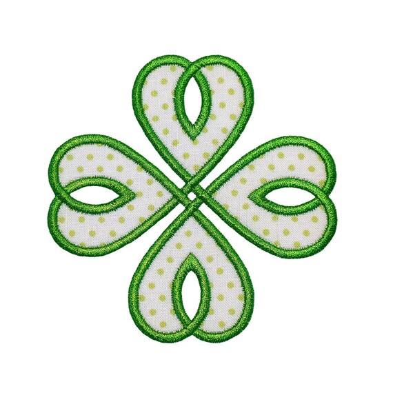 Nudo celta máquina bordado diseño Apliques patrones 2 | Etsy